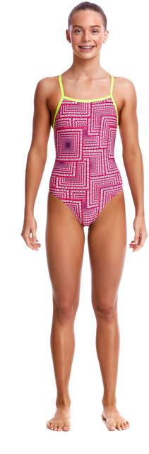 Costumi Da Bagno Per Bambino : Funkita strapped in one piece costume da bagno bambino rosa su